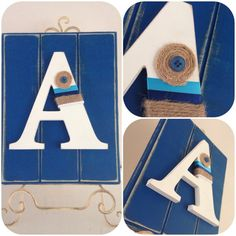 Individual Letter, wall or door hanging, custom, nursery, child, decor, monogram,made to order, faux timber panel board  on Etsy, $45.00 AUD