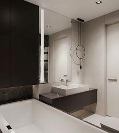 Two bathroom design ideas Bathtub, Behance, Design Ideas, Mirror, Bathroom, Interior, Furniture, Home Decor, Standing Bath