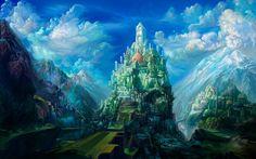 Cidade da Fantasia 3D.