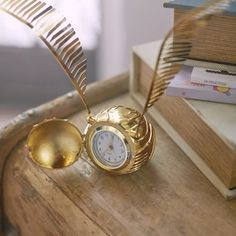 You don't have to play QUIDDITCH™ to capture THE GOLDEN SNITCH™. Make time fly with our HARRY POTTER™ Golden Snitch Clock! #mypbteen #HarryPotter