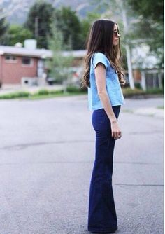 Flare jeans = all time ❤️