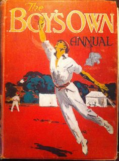 Front Cover of The Boys Own Annual, 1914
