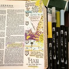 Genesis 1 Journaling Bible | Let there Be apileofashes.com