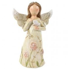 Buy Large Pink Resin Angel Ornament at competitive prices at Something Different Wholesale. Angel Ornaments, Cherubs, Fairies, Garden Sculpture, Resin, Angels, Disney Princess, Disney Characters, Outdoor Decor