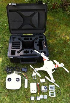 DJI Phantom Case £215.00 (http://goprocases.co.uk/dji-1-storage-case-for-dji-phantom-drone/)