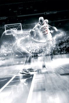 Chicago Bulls #23 Michael Jordan Basketball Digital Art  Codeblack Sports