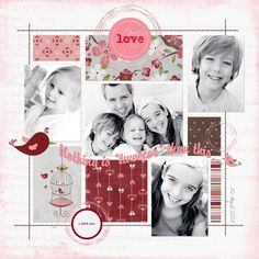 """My Love"" scrapbook page layout by caroline Love Scrapbook, Wedding Scrapbook, Scrapbook Page Layouts, Scrapbook Paper Crafts, Scrapbook Cards, Scrapbooking Ideas, Photo Layouts, Deco, Cardmaking"