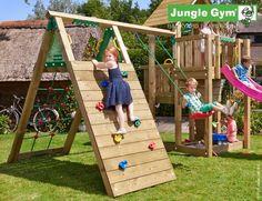 Climb Module   New Jungle Gym Modules In The Backyard.
