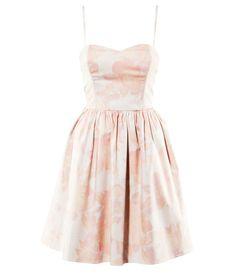 H&M powder/patterned light pink Dress £9.99