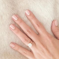 A simple pastel manicure is always in style.
