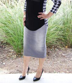 Grace Denim Skirt COMING SOON - Beautiful One Modest Apparel