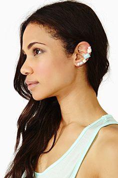 Candy ear cuff