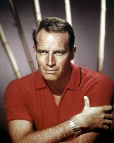 Charlton Heston (October 4, 1923 – April 5, 2008), American actor.