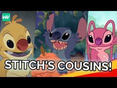 The History of All of Stitch's Cousins! Stitch Cousins, Best Friend Tattoos, Cartoon Characters, Fictional Characters, Lilo And Stitch, Disney Movies, Dreamworks, Pixar, Pikachu