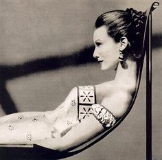 Mary Jane Russell, Vogue Dec. 1954