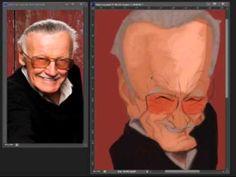 Stan Lee (Digital Caricature)