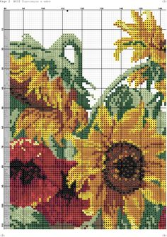 Fotos de la comunidad Counted Cross Stitch Patterns, Cross Stitch Designs, Cross Stitch Embroidery, Cross Stitch Rose, Cross Stitch Flowers, Cross Stitching, Flower Designs, Needlepoint, Red Roses