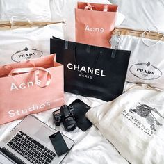 chanel, Prada, and shopping image Gucci, Burberry, Shopping Spree, Go Shopping, Mademoiselle Coco Chanel, Prada, Natural Acne Remedies, Shop Till You Drop, Expensive Taste