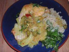 Les Cuisines de Garance: Quinoa et tajine de poulet aux fenouils...