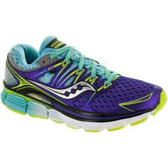 Saucony Triumph ISO. Run like a river on flowing cusion! All-time high cushion levels & sock-like fit, just makes you wanna run!
