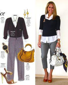 J's Everyday Fashion: The Vintage Scarf. Love love love love love this outfit! Fall Outfits, Casual Outfits, Cute Outfits, Fashion Outfits, Js Everyday Fashion, Look Short, Outfits Mujer, Looks Chic, Professional Attire