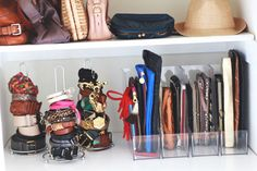 Divide Purses with a Magazine Rack  - GoodHousekeeping.com