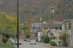 Harpers Ferry, WV--a beautiful, historic town built into the mountains