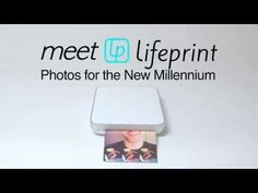 Lifeprint Instant Photo Printer for iOS and Android #PhotoPrinter