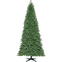 Holiday Time Unlit 9' Freemont Fir Slim Artificial Christmas Tree