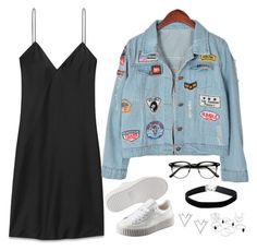 """Untitled #854"" by samantha-hannum ❤ liked on Polyvore featuring Yves Saint Laurent, Chicnova Fashion, Puma, Miss Selfridge and Nadri"
