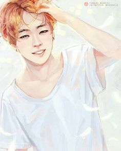 AGHHHH MY HEART (//^//) Jimin looking beautiful as always.