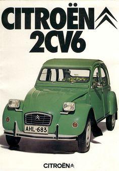 Citroën 2CV6 - brochure from Finland (1976)