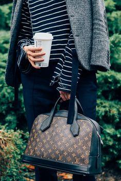 October 5, 2015  Tags Paris, Stripes, Louis Vuitton, Bags, SS16 Women's, Céline