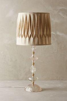 Anthropologie Carlotta Table Lamp #anthrofave