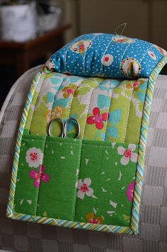 Pincushion caddy.