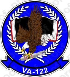 M.C. Graphic Decals - STICKER USN VA 122 FLYING EAGLES, $3.00 (http://www.mcgraphicdecals.com/sticker-usn-va-122-flying-eagles/)