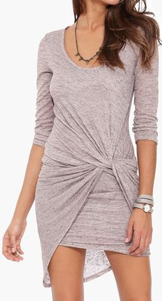Twist knot dress //