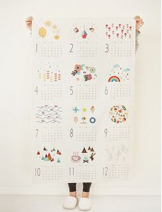 2014 calendar illust cut LOVE THIS DESIGN!!