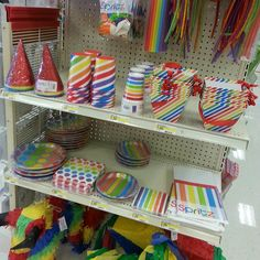 Rainbow party supplies at Target <- Hopefully they still have this!