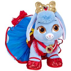Majestic Disney Princess Palace Pets Berry - Build-A-Bear Disney Plush, Disney Toys, Baby Doll Diaper Bag, Princess Palace Pets, Build A Bear Outfits, Bear Shop, Building For Kids, Pet Toys, Lps Pets