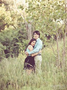 outdoor engagement photo session #couple #wedding (Manifesto Photography)