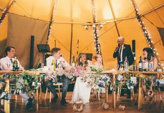 Hollie and Matthew's Bohemian Wedding Under A Tree. By Chris Fishleigh Photograpy