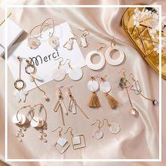 Earrings Drop Earrings Diligent Japan And Korea Hot Fashion Simple Black Water-drop Crystal Round Pearl Pendant Asymmetric 925 Silver Dangle Earring For Women