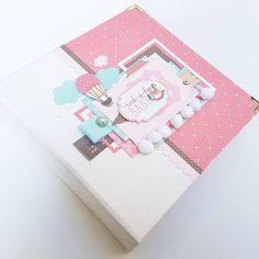 #babygirl #album #baby #girl #minialbum #rockabyebaby #first #year #love #sweet #scrapbook #scrapbooking #echoparkpaper 💖#scrap_official… Mini Scrapbook Albums, Baby Scrapbook, Girls Album, Echo Park Paper, Baby Album, Scrapbooking, Baby Shower, Sweet, Diy Baby