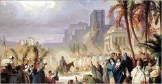 Devotion for Day of May 16, 2014 | Daily Prayer      Christ's Entry into Jerusalem by Felix Louis Leullier, ca.1860.