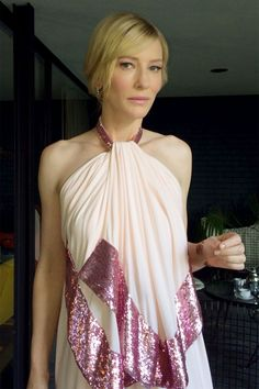 Cate Blanchett's SAG Awards Makeup Was Inspired By A Sixties Fairy - MyDaily UK