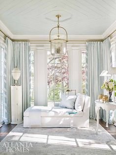 Inside a Swedish furniture-filled interior, inspired by Pauline de Rothschild, designed by Tristan Harstan for the Southeastern Showhouse.
