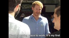 Prince Harry visits re-opened Borough Market