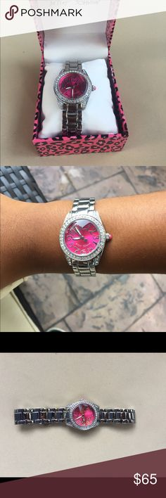 Betsy Johnson Watch It's in top condition. The watch has never been worn (with the exception of the photos above) Betsey Johnson Accessories Watches