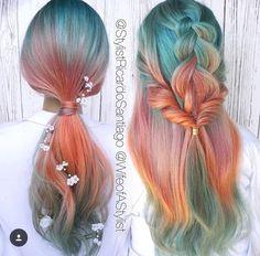 Dye My Hair, New Hair, Pelo Multicolor, Super Hair, Pastel Hair, Cool Hair Color, Hair Colors, Colours, Light Colors